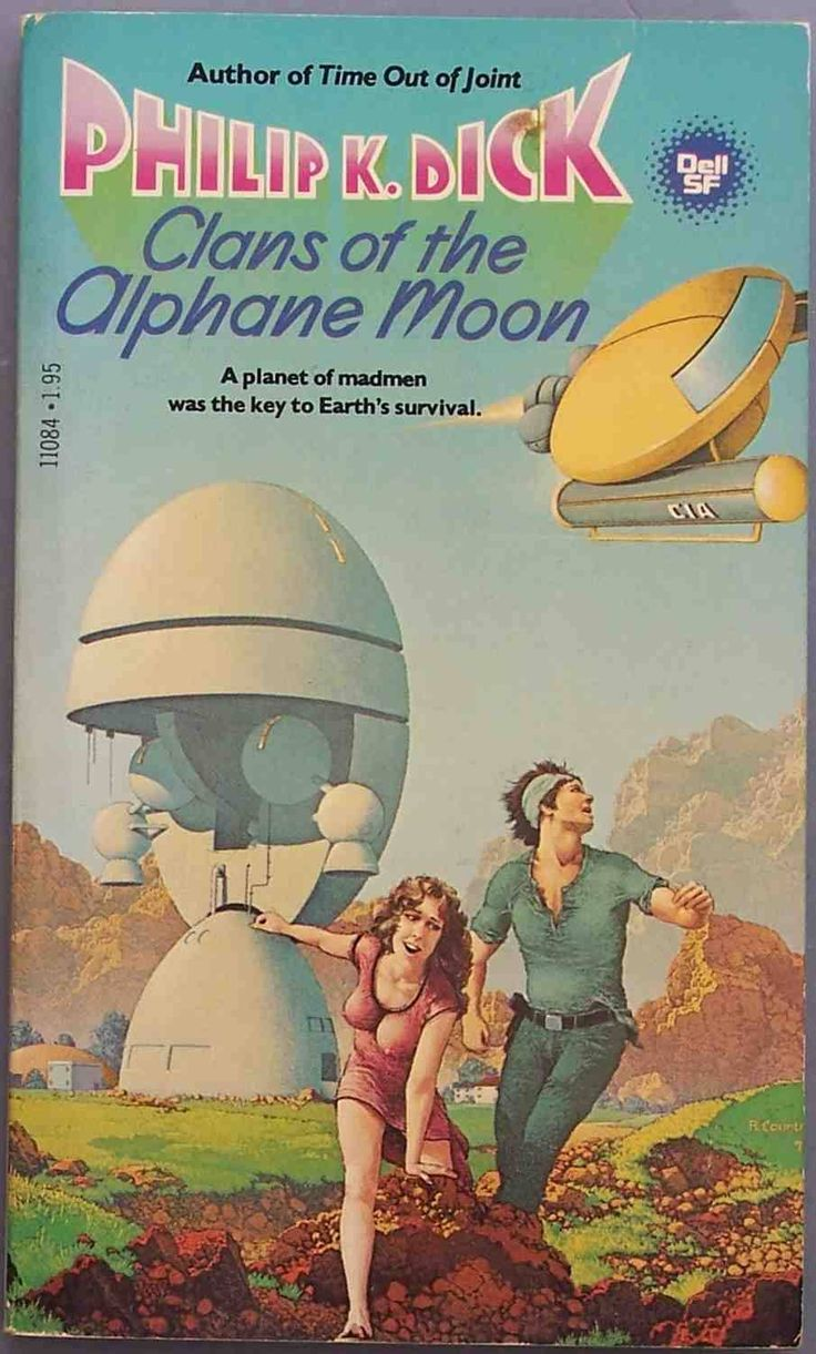 """Clans of the Alphane Moon (Cover), Cover for """"Clans of the Alphane Moon"""". """"Clans of the Alphane Moon"""" is a 1964 science fiction novel by Phi..."""