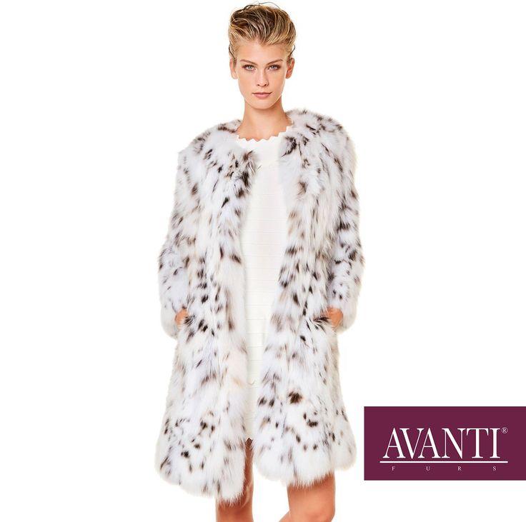 AVANTI FURS - MODEL: KALAHARI  CAT LYNX JACKET   #avantifurs #furs #fashion #catlynx #luxury #musthave #мех #шуба #стиль #норка #зима #красота #мода #topfurexperts