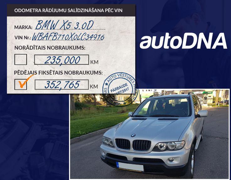 Daugavpilī pieejams BMW X5 3.0D no Beļģijas ar koriģētu odometra rādījumu par vairāk nekā -100,000km Arī ražošanas gads ir norādīts nepareizs. Auto ir 2004. gada.  Auto vēstures atskaite autoDNA.lv https://www.autodna.lv/vin/WBAFB710X0LC34916/auto/bae5f80e5ae8b6ac3f4ae253532a52fe247968f7  Sludinājums: https://www.ss.com/msg/lv/transport/cars/bmw/x5/biopne.html  #AutoDNA #AutoVēsture #VIN #ODO #Odometrs #BMW #X5 #Koriģēts #Nobraukums #Beļģija #VinPārbaude #VinVēsture #BmwNobraukums…