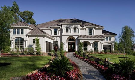 TOLL BROTHERS THE VALLAGIO MEDITERRANEAN - DECORATED MODEL HOME