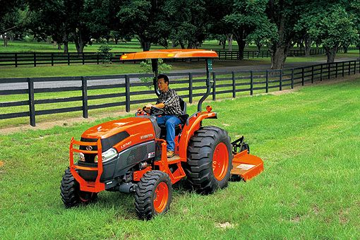 Kubota Tractor Corporation - L3540..what a great tractor..