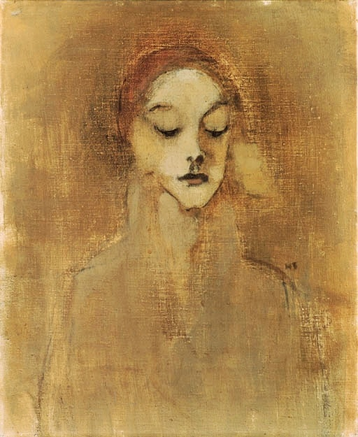 HELENE SCHJERFBECK The Gatekeeper's Daughter (c.1920)