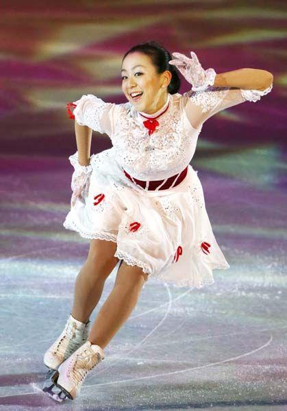 Mao Asada, White Figure Skating / Ice Skating dress inspiration for Sk8 Gr8 Designs.