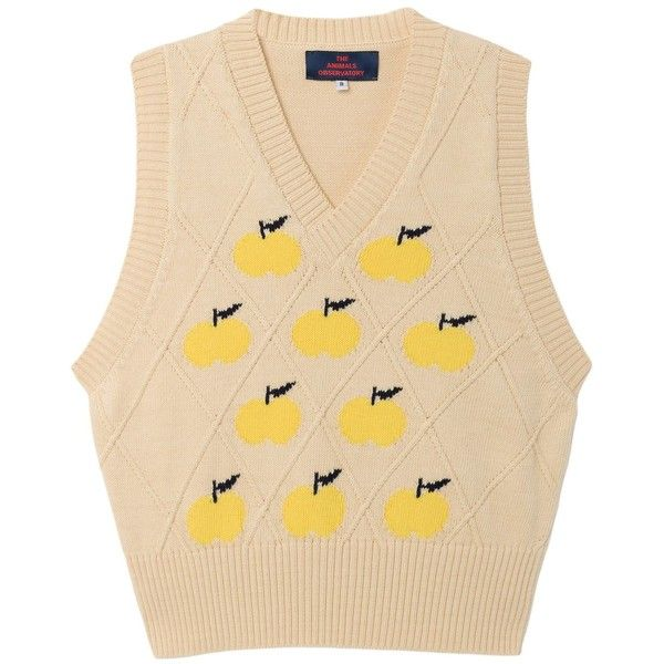 Chick Vest, Yellow ($107) ❤ liked on Polyvore featuring outerwear, vests, layered vest, beige vest, vest waistcoat, yellow vest and yellow waistcoat
