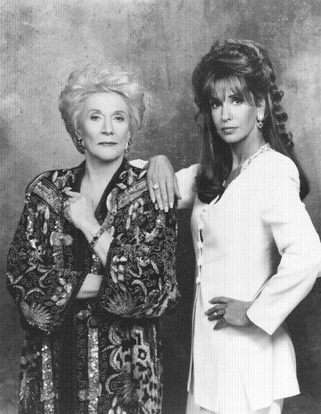 Katherine Chancellor and Jill Abbott .. early Young And The Restless .. 80s ...this was when the show was a lot better to watch