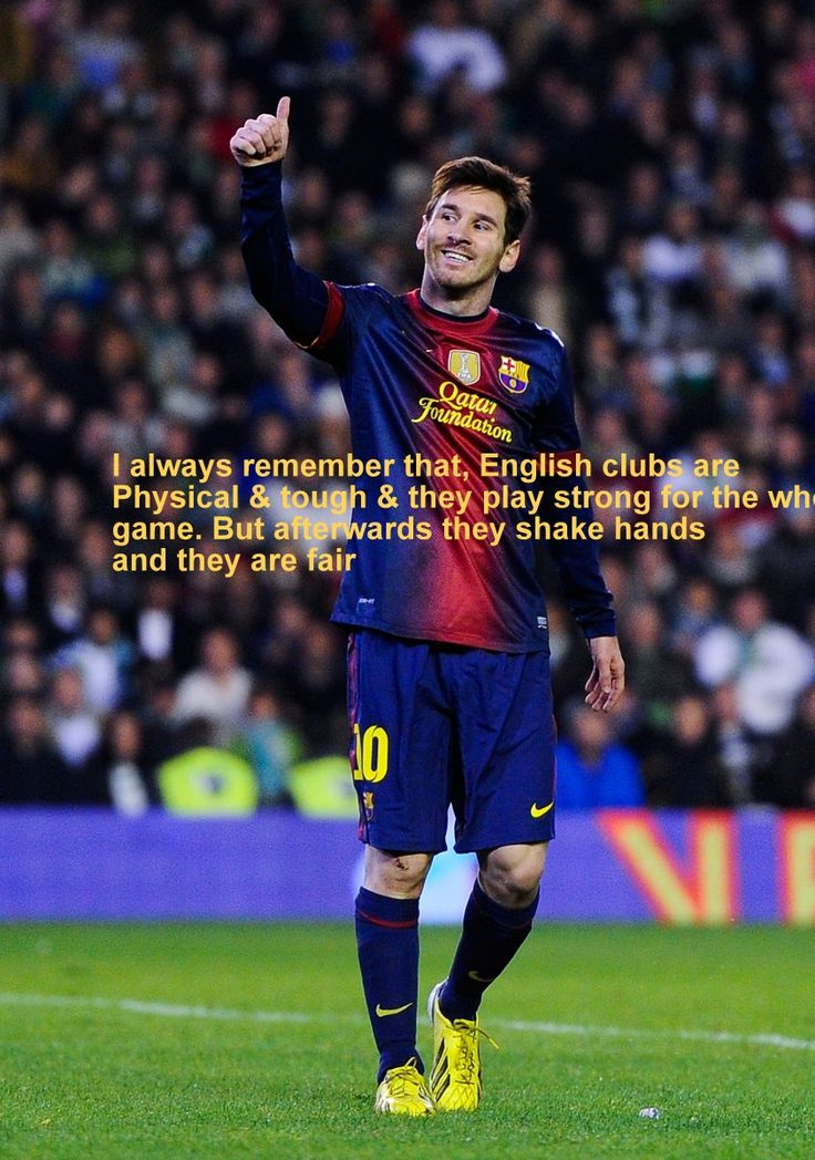 Lionel Messi Quotes on Football with Wallpapers