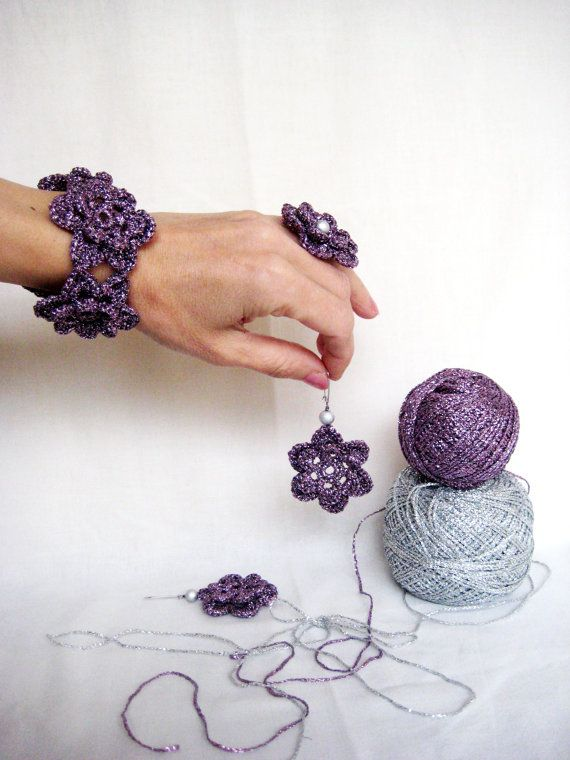 Hand Crocheted Accessories Crochet Accessories by BoryanacrochetBG