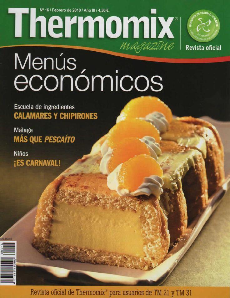 Revista thermomix nº16 menús económicos
