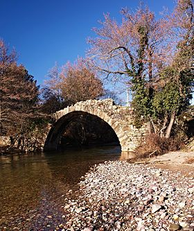 La Tartagine au pont génois de Pontare (Castifao)
