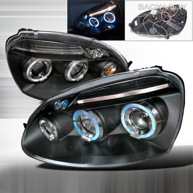 Volkswagen Jetta 2006-2008 Black Halo Projector Headlights W/LED'S