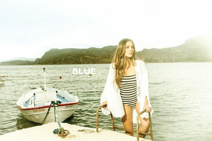 Greek summer is BLUE...
