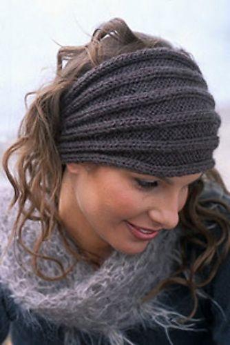 Simple Headband/ Ear-warmer Knit Pattern