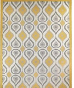 Not Quite Sure How I Could Make A Quilt Like This Out Of My Yellow And Gray  Hexies, But I Love It All The Same.