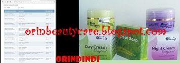 Cream Anisa New Original Diracik secara sempurna hingga menghasilkan cream pencerah wajah yang aman & alami.  Pria dan Wanita bisa pakai.  Paket terdiri dari : - 15.5gr Krim siang, BPOM NA18110102186 - 15.5gr Krim malam, BPOM NA18110102183 - 100gr Sabun herbal BPOM NA18111202039  Harga & detail cek disini.. http://orinbeautycare.blogspot.com/2013/10/cream-anisa-new-original.html