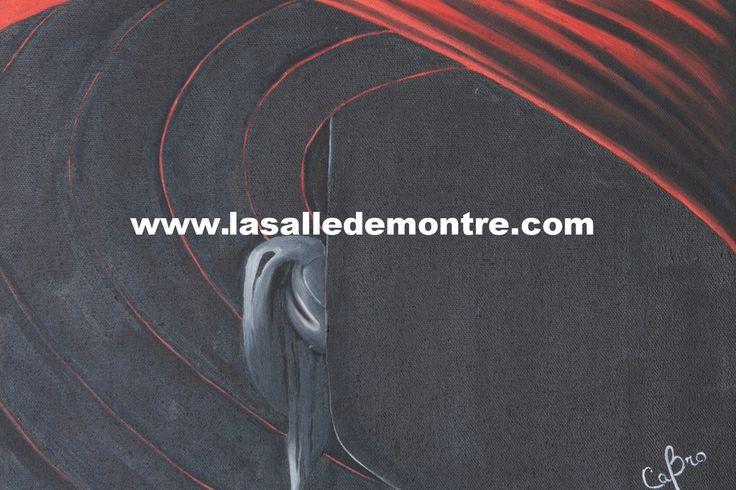 CaBro, artiste LSDM L'Inconnu 14 x 11   // 250 $  http://lasalledemontre.com/cabro-1/linconnu