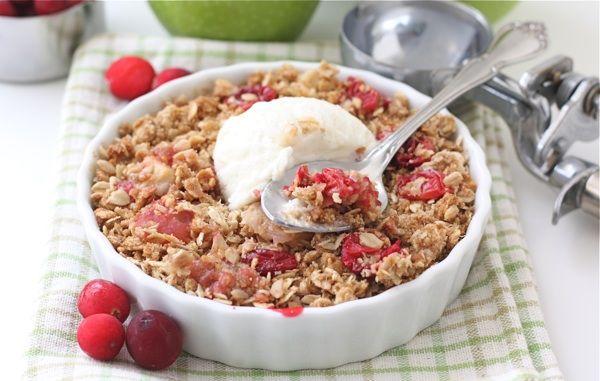 Cranberry Apple Crisp (GF)--on the menu for Thanksgiving 2011!