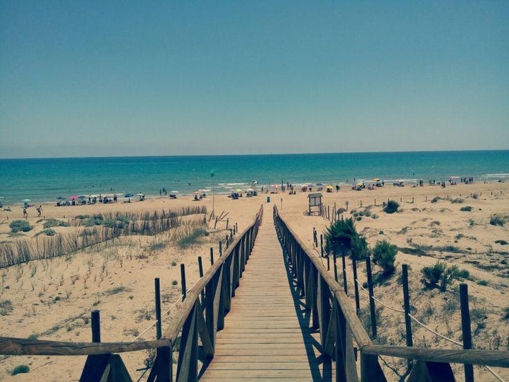Playa El Moncayo Guardamar del Segura
