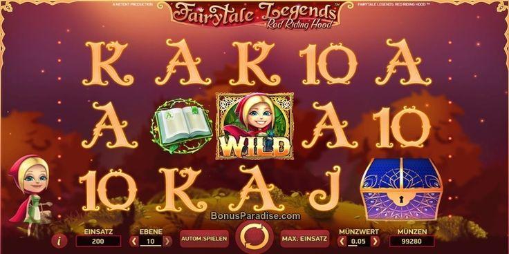 Fairytale Legends Red Riding Hood - #NetEnt #Spielautomat #VideoSlot