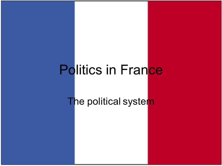 Politics in France The political system. French Republic: the basics Area: U.K. < California < France < Texas Population: 60 million (~ U.K.) –homogeneous? -  ppt download