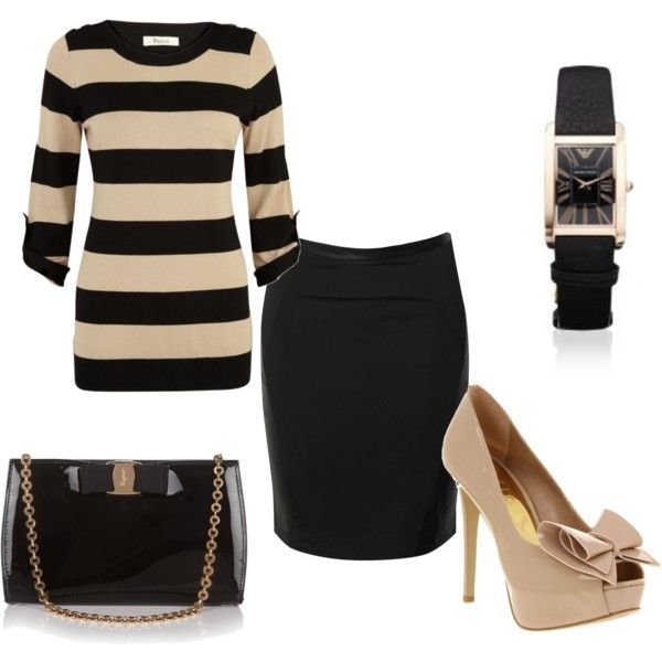 hmmOutfit Sets, Clothing, Cute Outfits, Ryanzwif, Understated But Classy, Understatedbut Classy, Polyvore, Casual Fridays