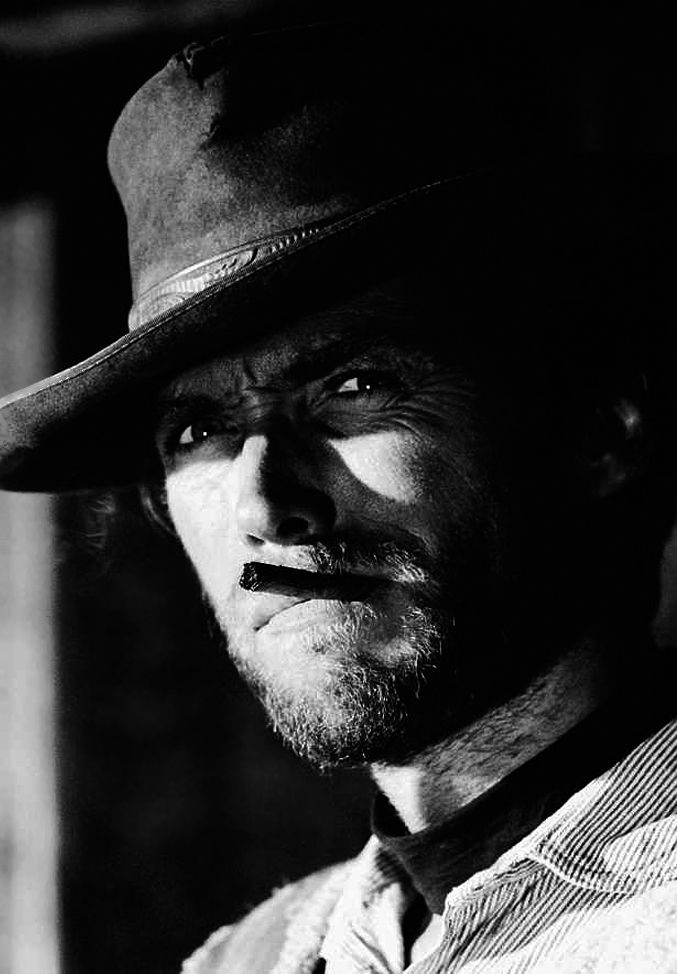 Clint Eastwood in The Good the Bad and the Ugly c.1966