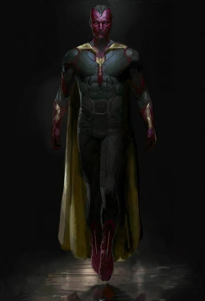 Avengers: Age of Ultron's The Vision Apparently Revealed in Leaked Concept Art   Comicbook.com
