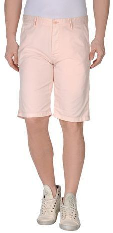 $111, Pink Shorts: Drykorn Bermudas. Sold by yoox.com. Click for more info: https://lookastic.com/men/shop_items/51104/redirect