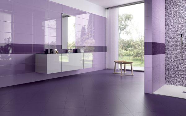 carrelage fa ence violet nuances ceramiche piemme avec
