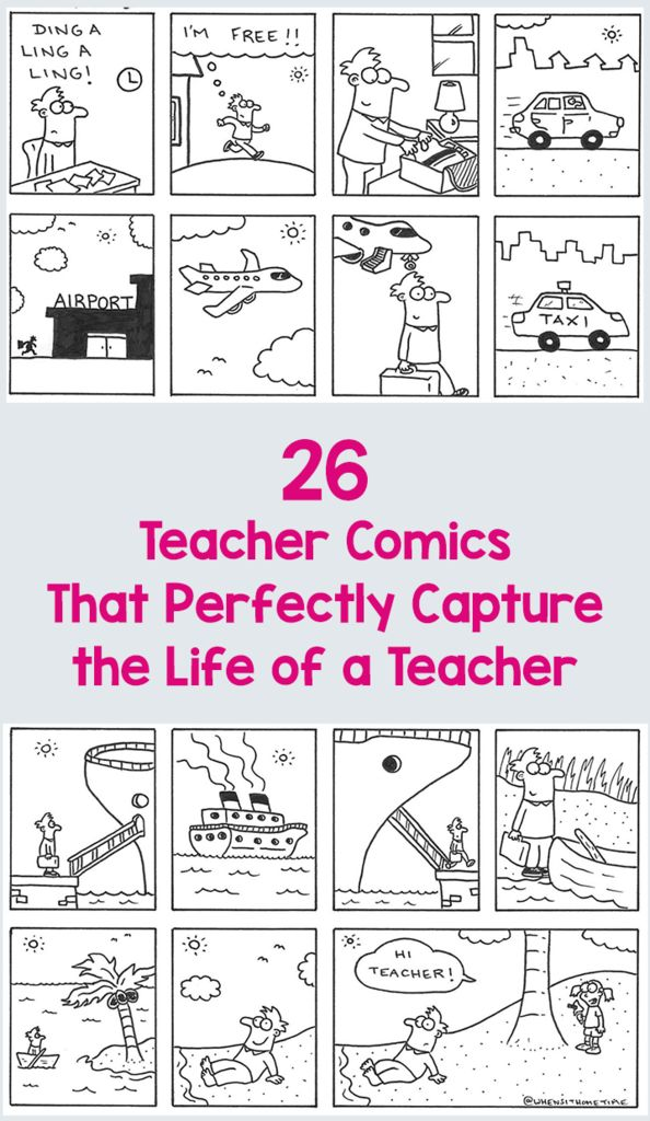 26 Teacher Comics That Perfectly Capture the Life of a Teacher – Bored Teachers