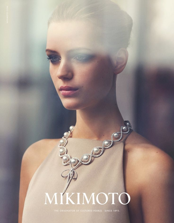 Mikimoto Jewelry Advertising