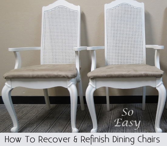 How To Recover Dining Room Chairs Unique Design Decoration