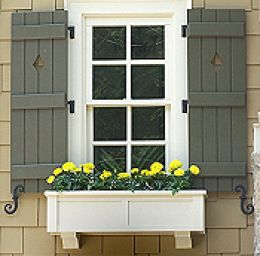 decorative outdoor shutters with cutouts why people like shutters