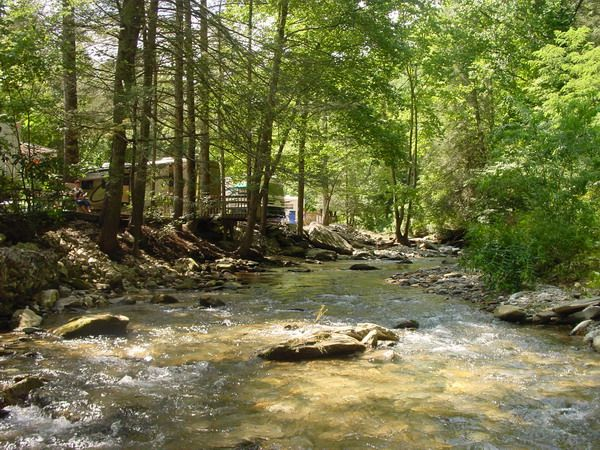 RV Campgrounds Campsites In NC By Mountain Stream Park