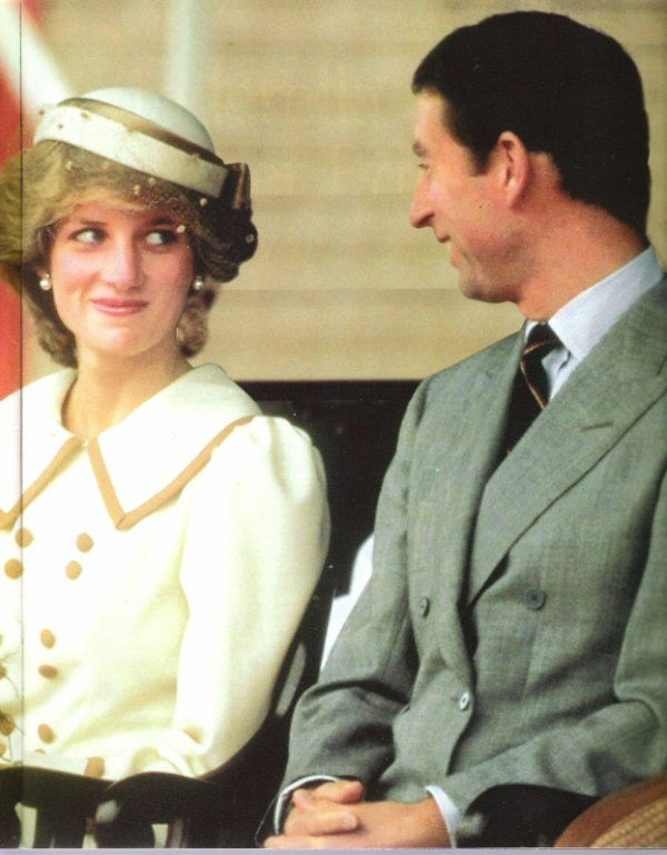 Tour of Canada ~ Charles and Diana enjoying each other and a knowing moment...