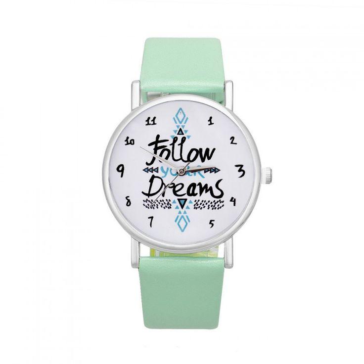 Dámské hodinky s nápisem v ciferníku zelené- 30 % SLEVA + POŠTOVNÉ ZDARMA Na tento produkt se vztahuje nejen zajímavá sleva, ale také poštovné zdarma! Využij této výhodné nabídky a ušetři na poštovném, stejně jako …