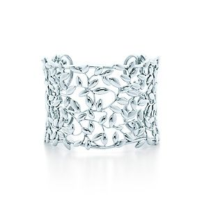 Paloma Picasso® Olive Leaf cuff in sterling silver. #TiffanyPinterest