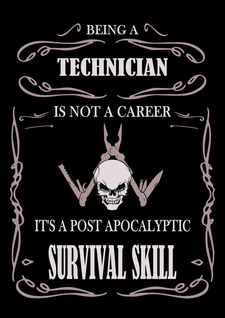 Technician póló végleges!