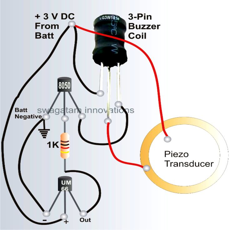 An Schematic From A Light Wiring Diagram How To Make A Bicycle Horn With Ringtone Circuit