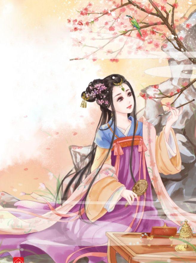 誥命逆媳(一)副本@咬笔的长鱼采集到潇潇雨香(4253图)_花瓣插画/漫画