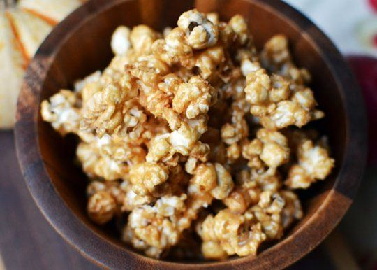 Fall Snacking Recipe  Peanut Butter Popcorn    Recipes from The Kitchn   The Kitchn