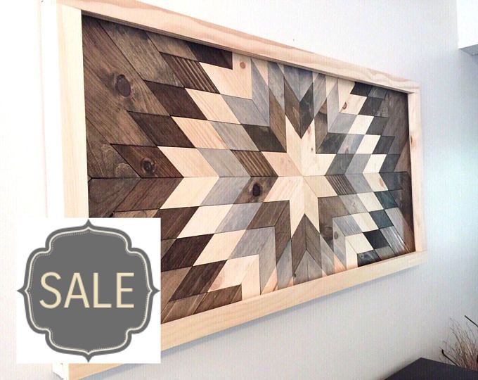 VENTA * recuperado arte de pared de madera, decoración de pared de madera, arte madera, decoración de la pared moderno, explosión de sol de madera, decoración de madera de granero, granja decoración