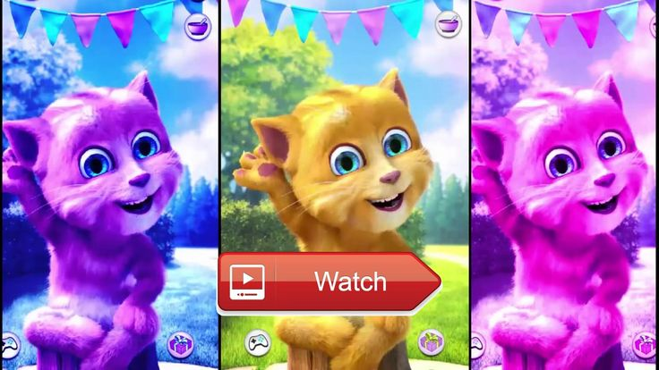 😸 Talking Ginger Colors Cat Learn Counting ABC Games for Kids Children Baby Android Gamepl 😹 😼 on Pet Lovers 🐼
