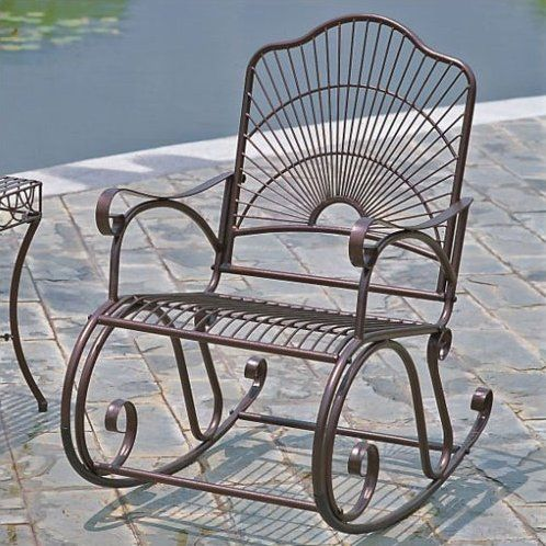 Swell Nocona Rocking Chair Home Stuff In 2019 Iron Patio Gamerscity Chair Design For Home Gamerscityorg