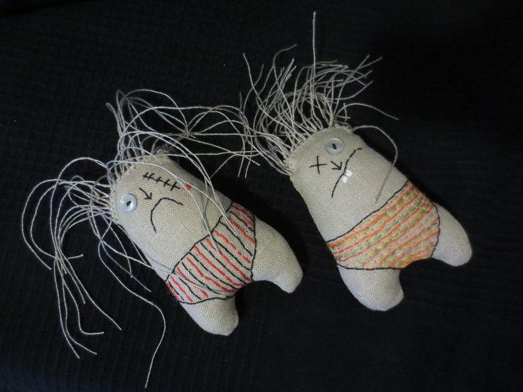 Dolls:  Bad hairday???