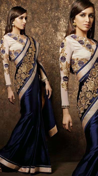 designer-sari