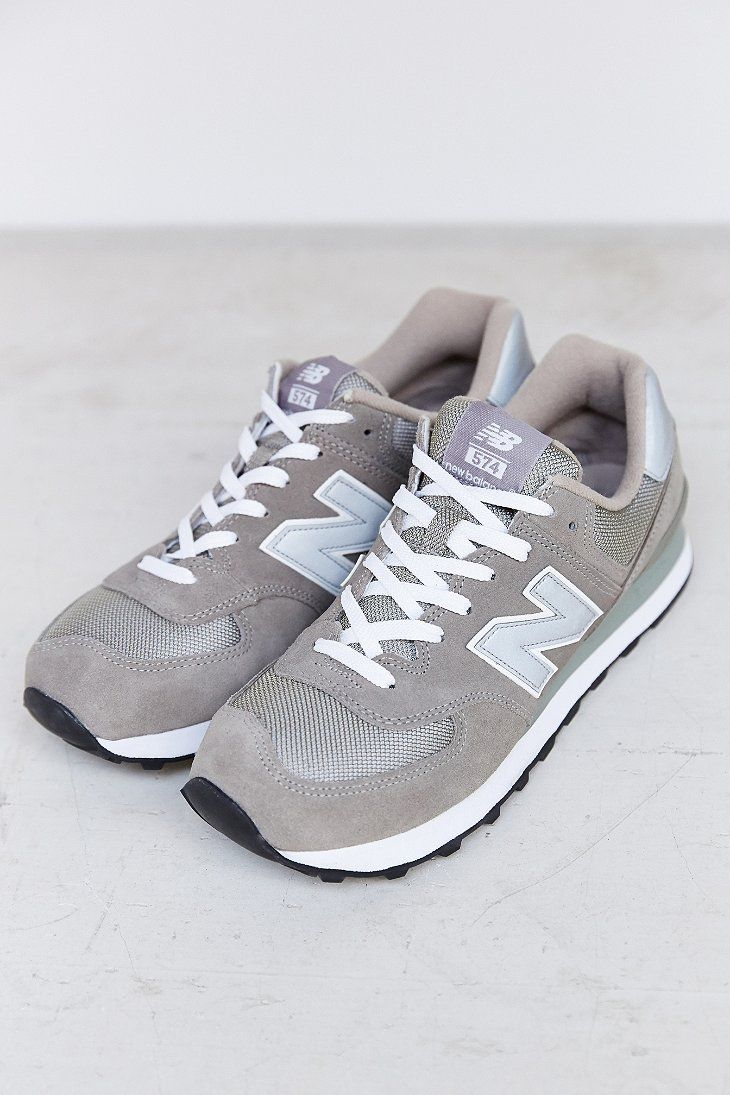 New Balance 574 Gris Rouge Bleu