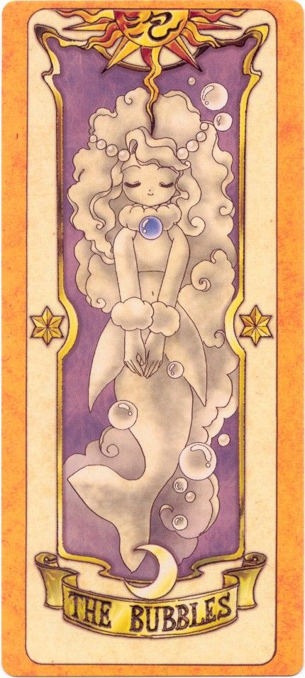 The Clow Card: The Bubbles Card I don't remember this one being in the manga...