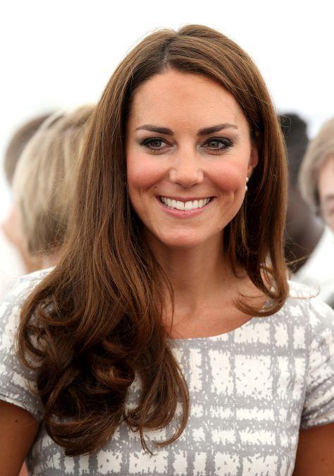 Photos Bien Coiffée Kate Middleton Et Son Célèbre Brushing Lisse