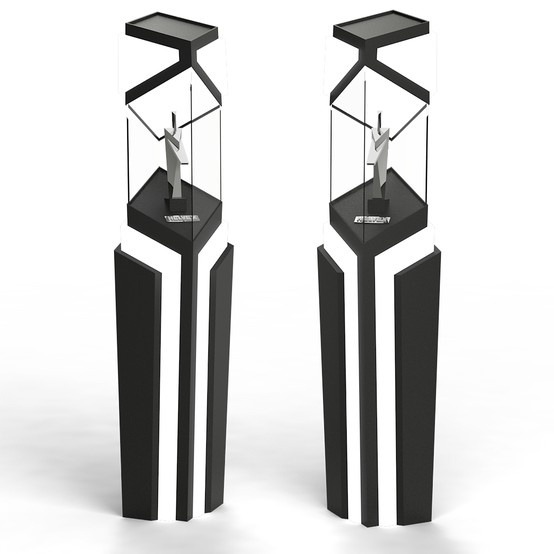 3D Glorificador. Cliente: Eligge Great Group para Helvex. Diseño: Jorge Moreno