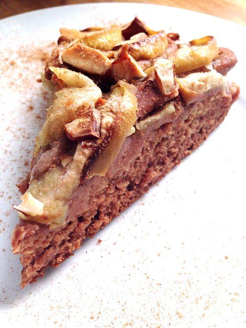 PARFAIT Gâteau pomme datte cannelle sans sucre sans gluten vegan vegetalien
